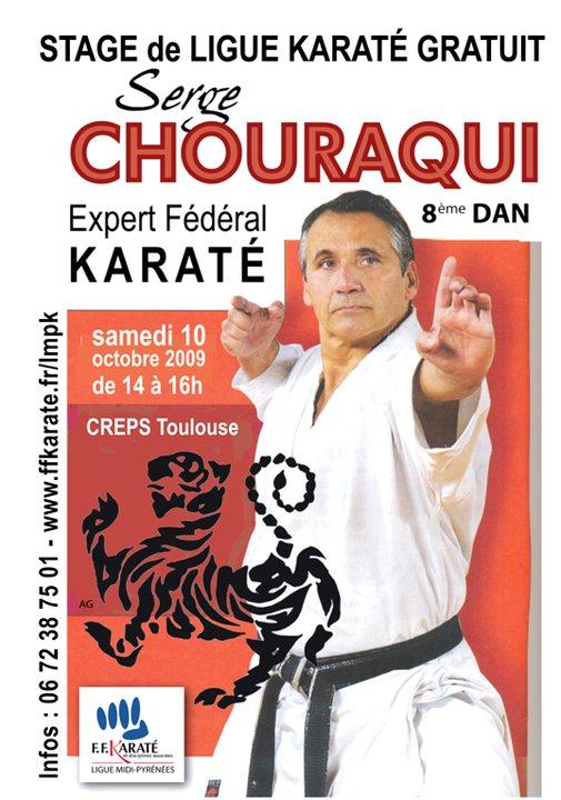 Art dojo affiche karate chouraqui 1