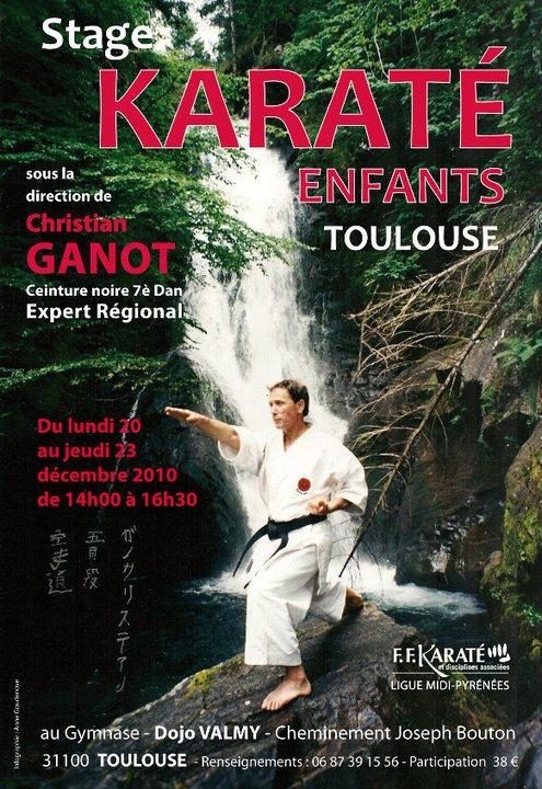 Art dojo affiche karate14