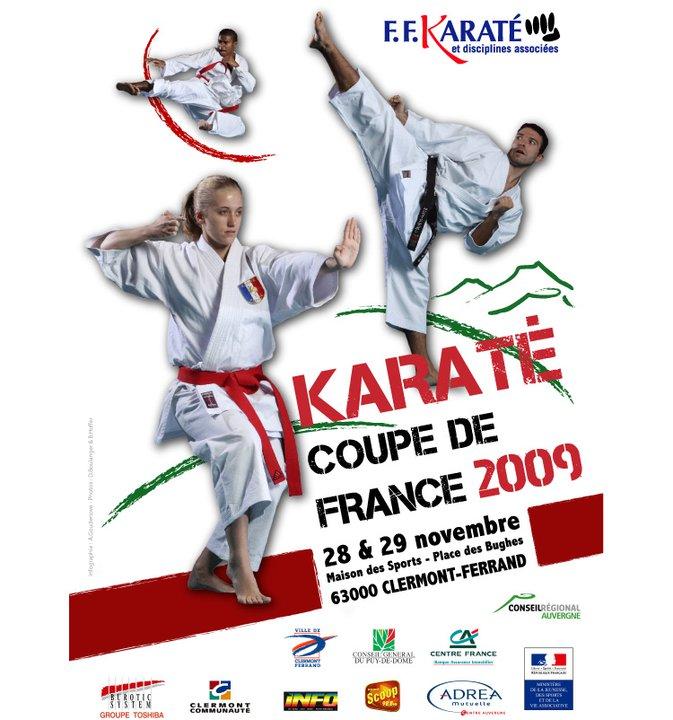 Art dojo affiche karate15