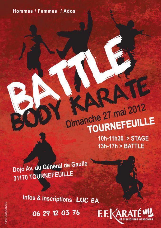 Art dojo affiche karate2