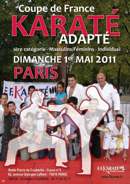 Art dojo affiche karate7