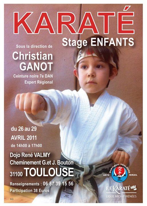 Art dojo affiche karate8