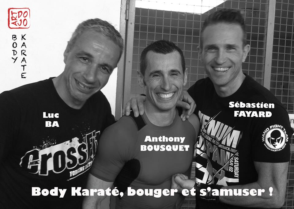 Art dojo body karate luc ba