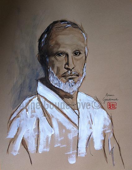 Peintures arts martiaux for Art martiaux